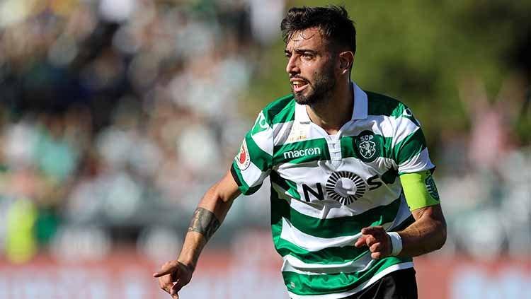 Bruno Fernandes: Manchester United 10 juta Poundsterling Dari Sporting Lisbon